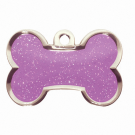 "BowWowMeow Tiermarke 'Fashion', ""Knochen"", Violett, klein/medium"