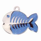 "BowWowMeow Tiermarke 'Fashion', ""Fisch"", Blau, klein"