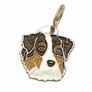 """Handbemalte Hundemarke, """"Australian Shepherd tricolor"""""""