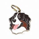"""Handbemalte Hundemarke, """"Berner Sennenhund"""""""