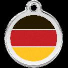 """RedDingo Tiermarke mit Emaille, """"Deutschland"""", klein"""