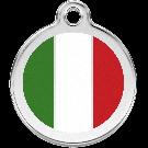"""RedDingo Tiermarke mit Emaille, """"Italien"""", klein"""