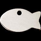 """RedDingo Tiermarke aus Edelstahl, """"Fisch"""", klein"""