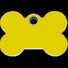 """RedDingo Tiermarke aus Kunststoff, """"Knochen"""", Gelb, klein"""