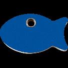 """RedDingo Tiermarke aus Kunststoff, """"Fisch"""", Blau, klein"""