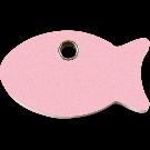 """RedDingo Tiermarke aus Kunststoff, """"Fisch"""", Rosa, klein"""