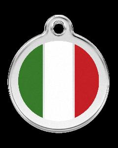 "RedDingo Hundemarke mit Emaille, ""Italien"", groß"