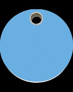 """RedDingo Tiermarke aus Kunststoff, """"Kreis"""", Hellblau, klein"""