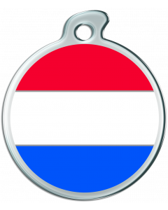"""Misstoro Hundemarke mit Emaille, """"Niederlande"""", medium"""