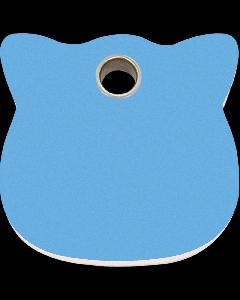 """RedDingo Tiermarke aus Kunststoff, """"Katze"""", Hellblau, klein"""