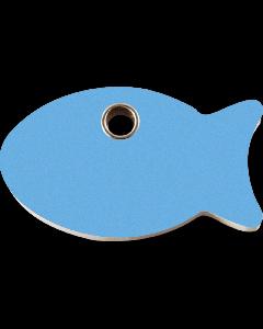 """RedDingo Tiermarke aus Kunststoff, """"Fisch"""", Hellblau, klein"""