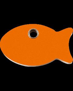"""RedDingo Tiermarke aus Kunststoff, """"Fisch"""", Hellorange, klein"""