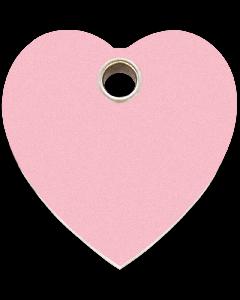 """RedDingo Tiermarke aus Kunststoff, """"Herz"""", Rosa, klein"""