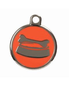 """BowWowMeow Tiermarke 'Design', """"Futternapf"""", Orange, klein"""