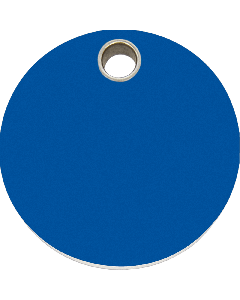 "RedDingo Tiermarke aus Kunststoff, ""Kreis"", Blau, klein"