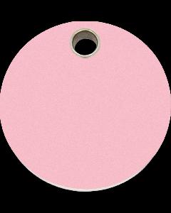 "RedDingo Tiermarke aus Kunststoff, ""Kreis"", Rosa, klein"